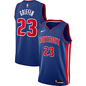 Nike Men's Detroit Pistons Blake Griffin #23 Royal Dri-FIT Swingman Jersey