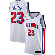 Nike Men's Detroit Pistons Blake Griffin #23 White Dri-FIT Swingman Jersey