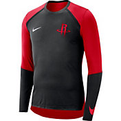 Nike Men's Houston Rockets Dri-FIT Long Sleeve Shirt
