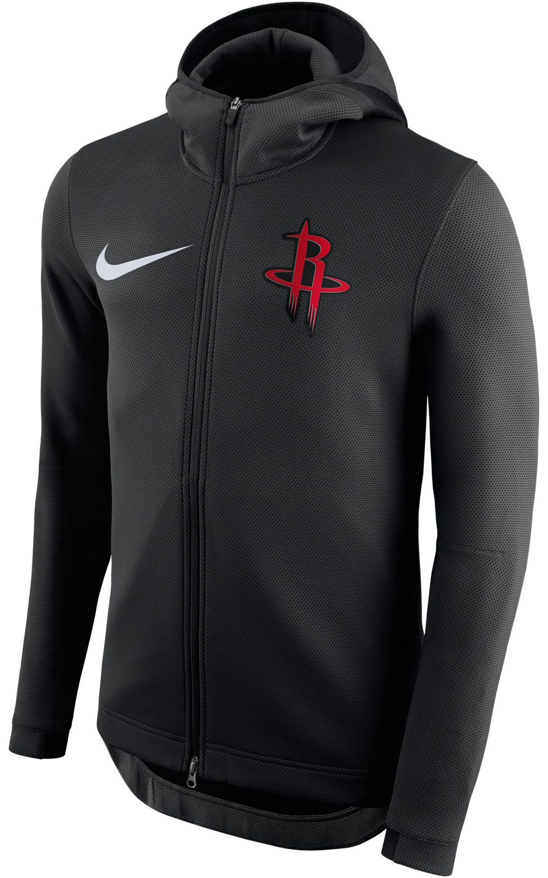 3b4ceaa147 Nike Men's Houston Rockets On-Court Therma Flex Showtime Full-Zip Hoodie