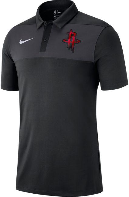 5b8c04d845d Nike Men s Houston Rockets Dri-FIT Polo