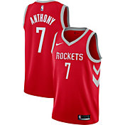 Nike Men's Houston Rockets Carmelo Anthony #7 Red Dri-FIT Swingman Jersey