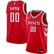 Nike Men's Full Roster Houston Rockets Red Dri-FIT Swingman Jersey