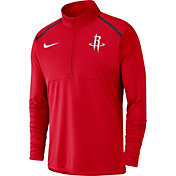 Nike Men's Houston Rockets Dri-FIT Element Half-Zip Pullover