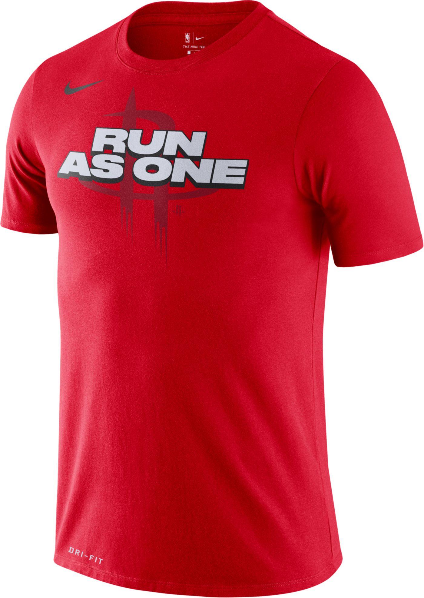 Nike Men's Houston Rockets Dri-FIT Mantra T-Shirt