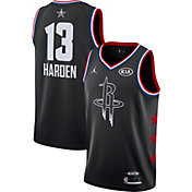 Jordan Men's 2019 NBA All-Star Game James Harden Black Dri-FIT Swingman Jersey