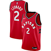 Nike Men's Toronto Raptors Kawhi Leonard #2 Red Dri-FIT Swingman Jersey