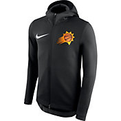Nike Men's Phoenix Suns On-Court Therma Flex Showtime Full-Zip Hoodie
