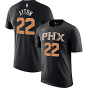 Nike Men's Phoenix Suns DeAndre Ayton #22 Dri-FIT Black T-Shirt