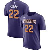 Nike Men's Phoenix Suns DeAndre Ayton #22 Dri-FIT Purple T-Shirt