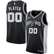 Nike Men's Full Roster San Antonio Spurs Black Dri-FIT Swingman Jersey