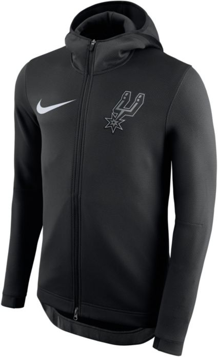 d67eb9d95 Nike Men s San Antonio Spurs On-Court Therma Flex Showtime Full-Zip ...
