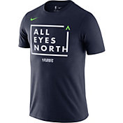 "Nike Men's Minnesota Timberwolves 2018 Playoffs ""All Eyes North"" Dri-FIT T-Shirt"
