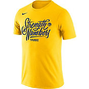 "Nike Men's Golden State Warriors 2018 Playoffs ""Strength In Numbers"" Dri-FIT T-Shirt"
