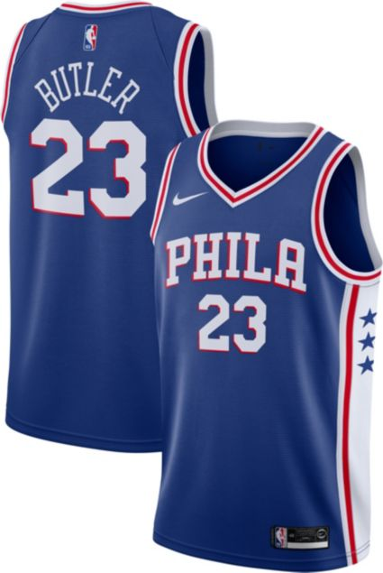 09a26ba65 Nike Men s Philadelphia 76ers Jimmy Butler  23 Royal Dri-FIT Swingman Jersey.  noImageFound