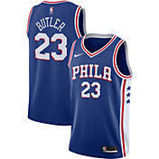 Nike Men's Philadelphia 76ers Jimmy Butler #23 Royal Dri-FIT Swingman Jersey