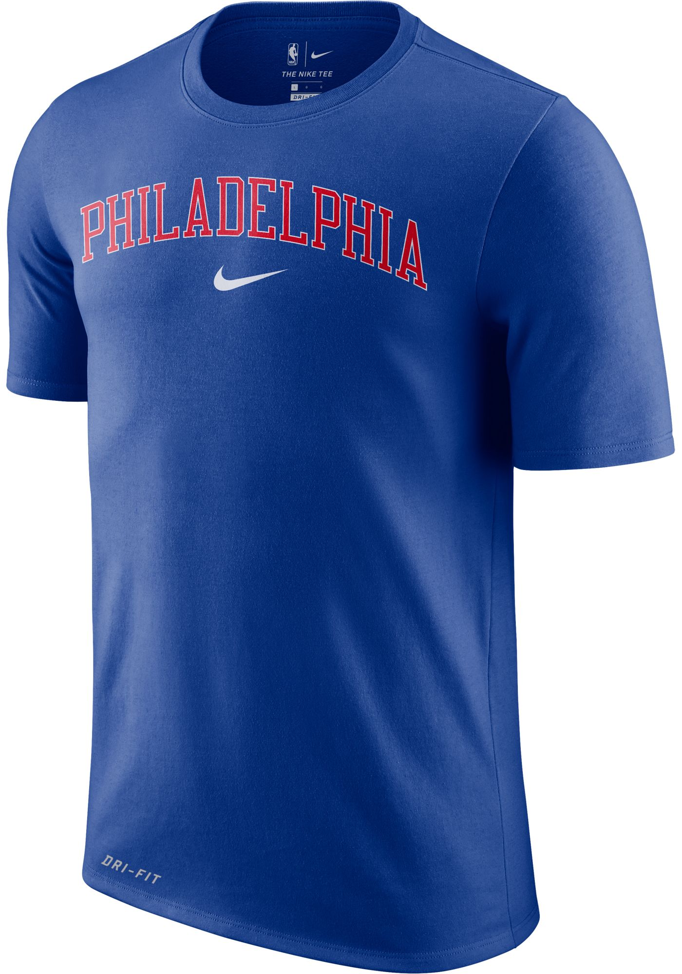 Nike Men's Philadelphia 76ers Dri-FIT City T-Shirt