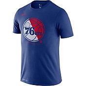 Nike Men's Philadelphia 76ers Dri-FIT Split Logo T-Shirt