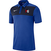 Nike Men's Philadelphia 76ers Dri-FIT Statement Polo