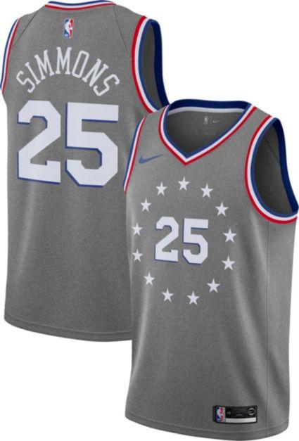 Nike Men s Philadelphia 76ers Ben Simmons Dri-FIT City Edition Swingman  Jersey. noImageFound 4fd5f318b