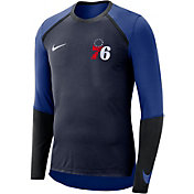 Nike Men's Philadelphia 76ers Dri-FIT Long Sleeve Shirt