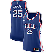 Nike Women's Philadelphia 76ers Ben Simmons #25 Royal Dri-FIT Swingman Jersey