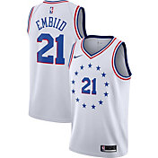 Nike Men's Philadelphia 76ers Joel Embiid Dri-FIT Earned Edition Swingman Jersey