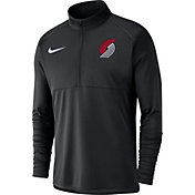 Nike Men's Portland Trail Blazers Dri-FIT Element Half-Zip Pullover