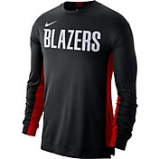 Nike Men's Portland Trail Blazers Dri-FIT Long Sleeve Shooting  Shirt