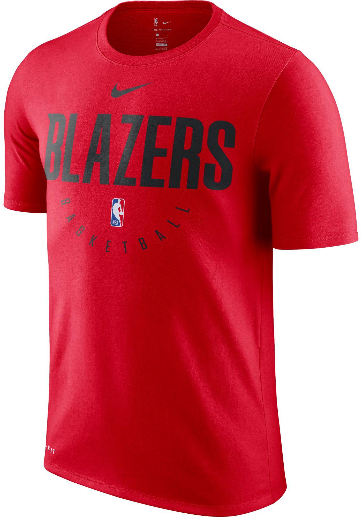Nike Men's Portland Trail Blazers Dri-FIT Practice T-Shirt