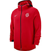 Nike Men's Portland Trail Blazers On-Court Dri-FIT Showtime Full-Zip Hoodie