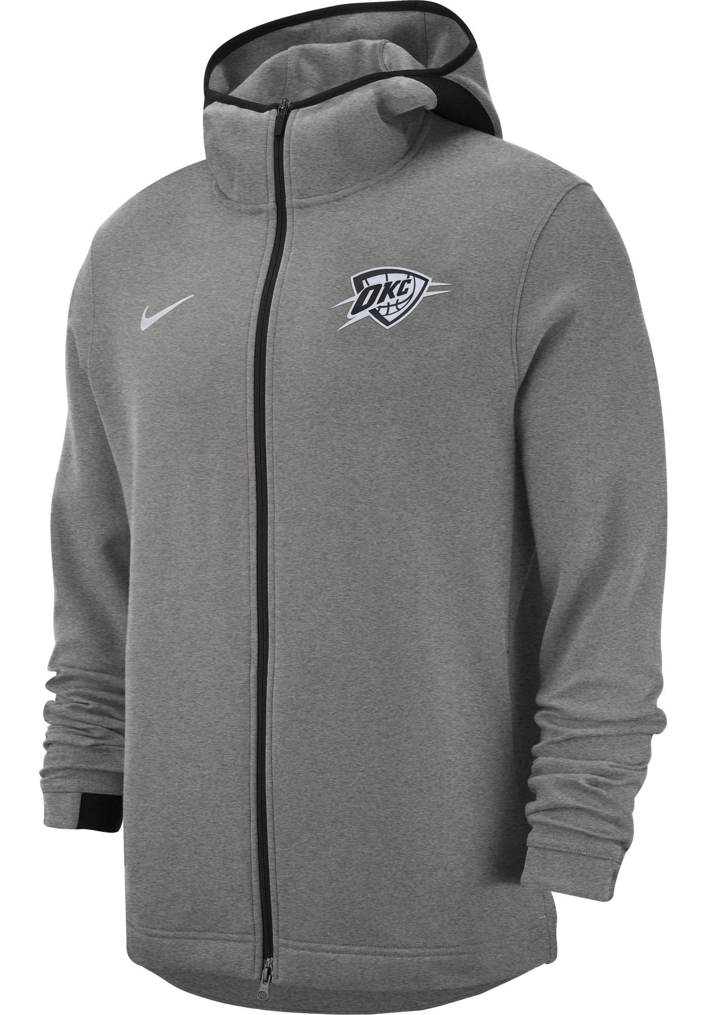 Nike Men's Oklahoma City Thunder On-Court Dri-FIT Showtime Full-Zip Hoodie
