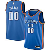 cfdc7203298 Product Image · Nike Men's Full Roster Oklahoma City Thunder Blue Dri-FIT Swingman  Jersey