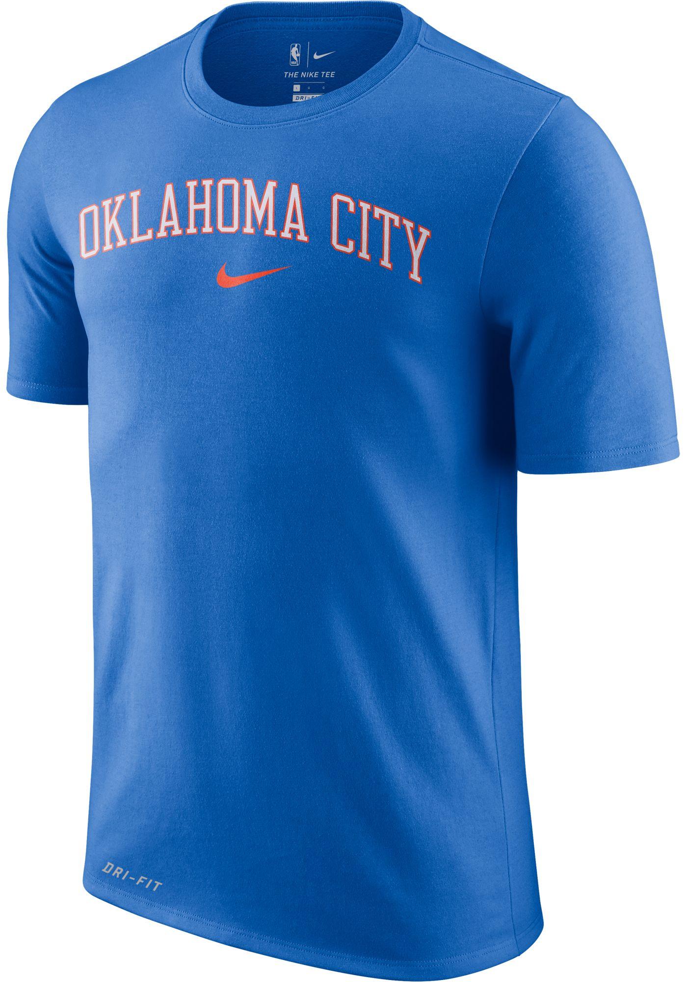 Nike Men's Oklahoma City Thunder Dri-FIT City T-Shirt