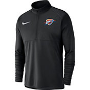 Nike Men's Oklahoma City Thunder Dri-FIT Element Half-Zip Pullover