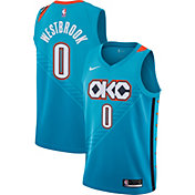 Nike Men's Oklahoma City Thunder Russell Westbrook Dri-FIT City Edition Swingman Jersey