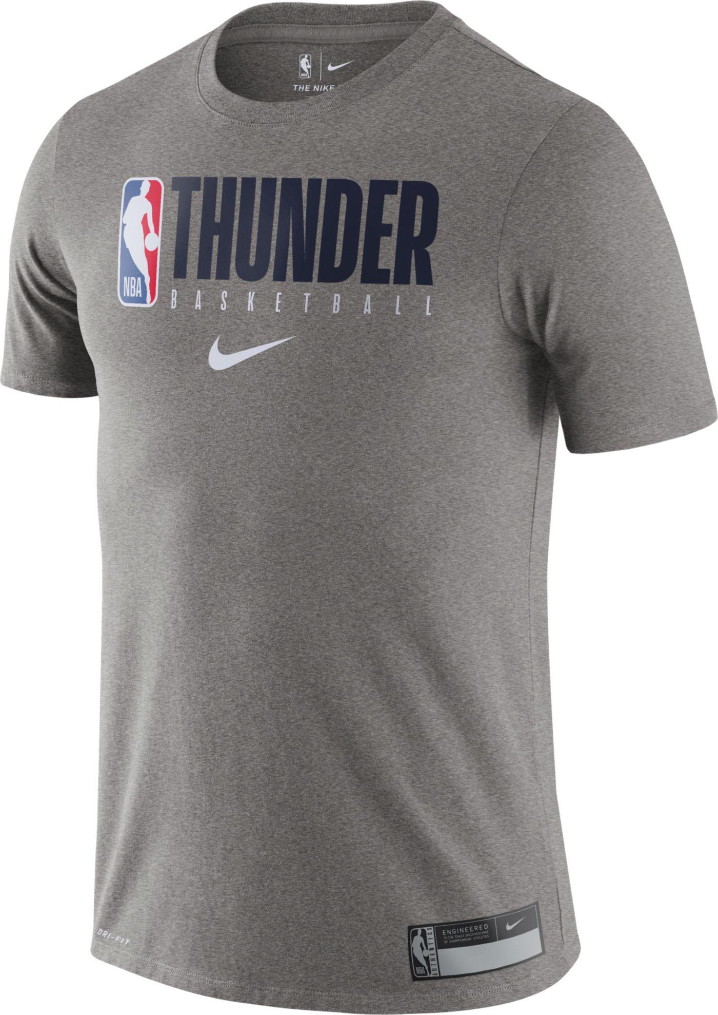 Nike Men's Oklahoma City Thunder Dri-FIT Practice T-Shirt