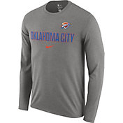 Nike Men's Oklahoma City Thunder Dri-FIT Facility Long Sleeve Shirt