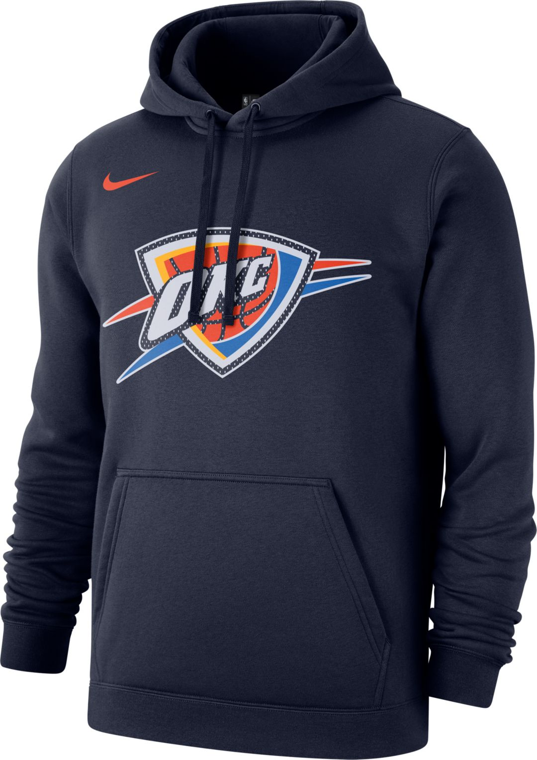 size 40 51a91 1cae2 Nike Men's Oklahoma City Thunder Pullover Hoodie