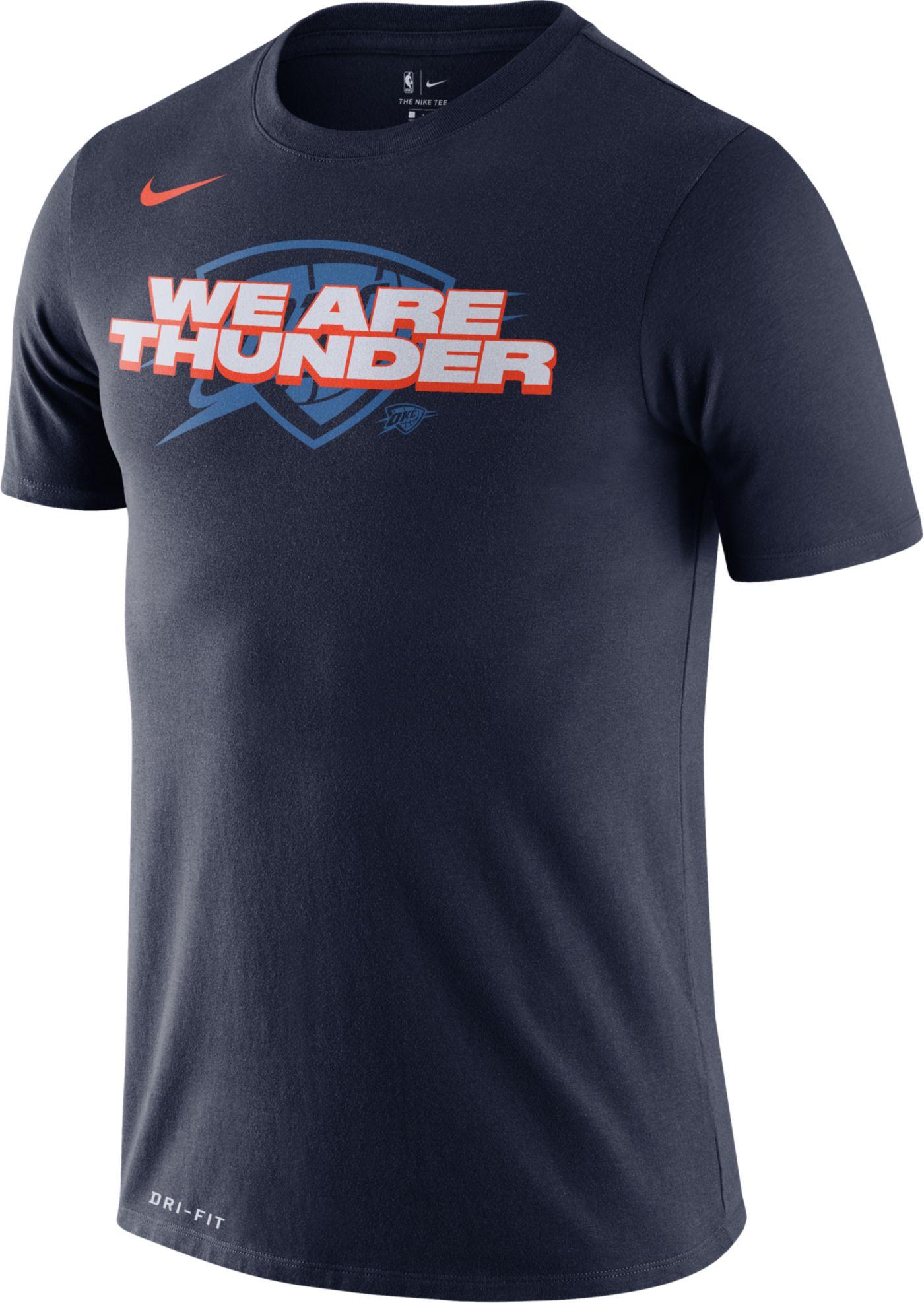 Nike Men's Oklahoma City Thunder Dri-FIT Mantra T-Shirt