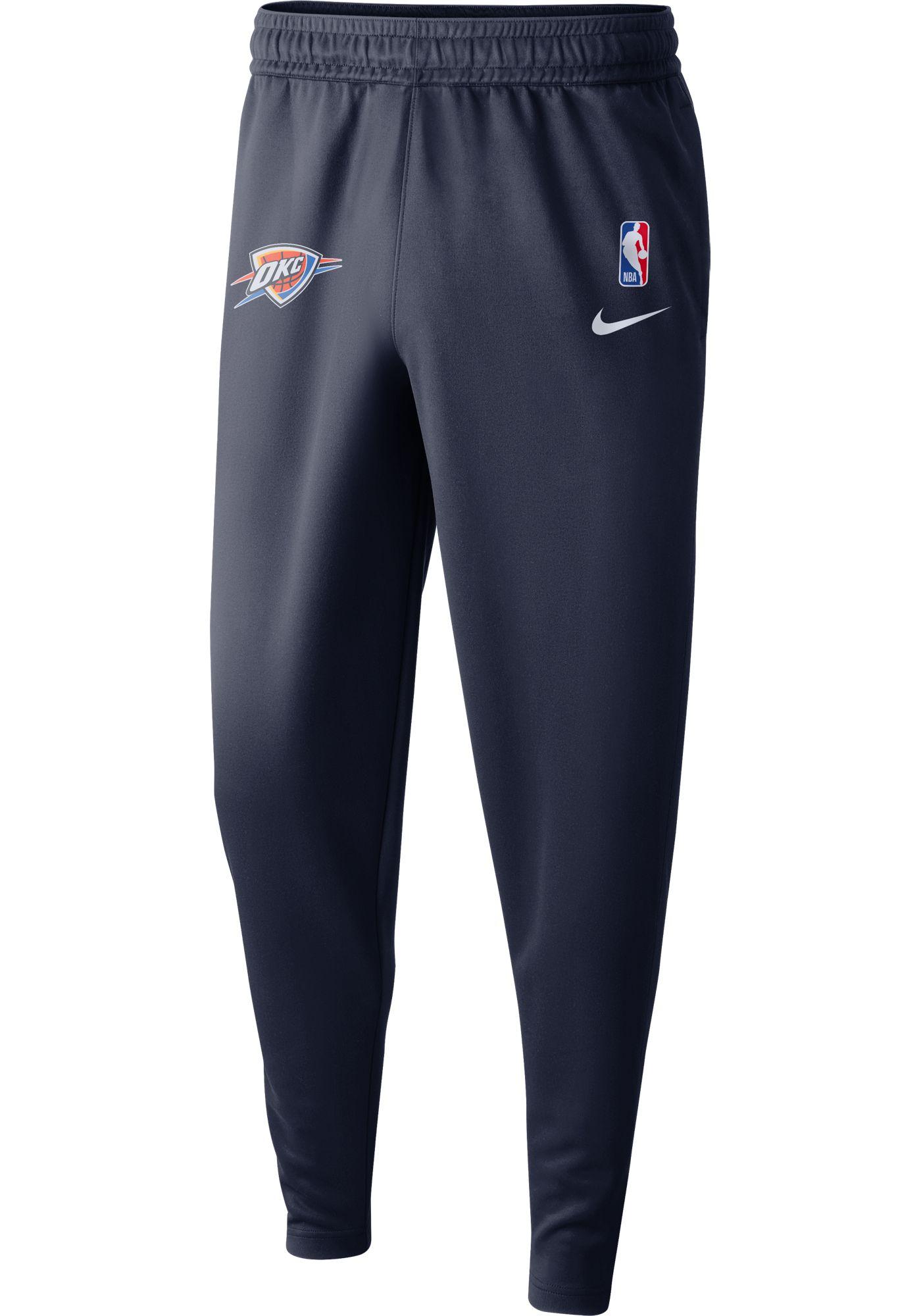 Nike Men's Oklahoma City Thunder Dri-FIT Spotlight Pants