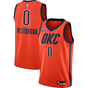 Nike Men's Oklahoma City Thunder Russell Westbrook Dri-FIT Earned Edition Swingman Jersey