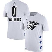 Jordan Men's 2019 NBA All-Star Game Russell Westbrook Dri-FIT White T-Shirt