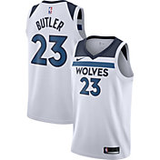 Nike Men's Minnesota Timberwolves Jimmy Butler #23 White Dri-FIT Swingman Jersey