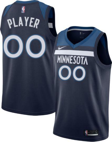 Nike Men s Full Roster Minnesota Timberwolves Navy Dri-FIT Swingman ... f4e4bc97a