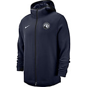 Nike Men's Minnesota Timberwolves On-Court Dri-FIT Showtime Full-Zip Hoodie