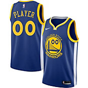 Nike Men's Full Roster Golden State Warriors Royal Dri-FIT Swingman Jersey
