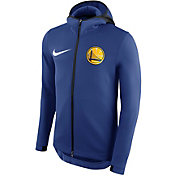 Nike Men's Golden State Warriors On-Court Therma Flex Showtime Full-Zip Hoodie