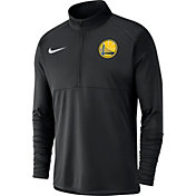Nike Men's Golden State Warriors Dri-FIT Element Half-Zip Pullover