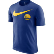 Nike Men's Golden State Warriors Dri-FIT Swoosh Logo T-Shirt